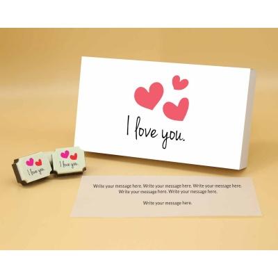 I Love You Chocolates 18 Pcs  ValentaineDay12RAPA