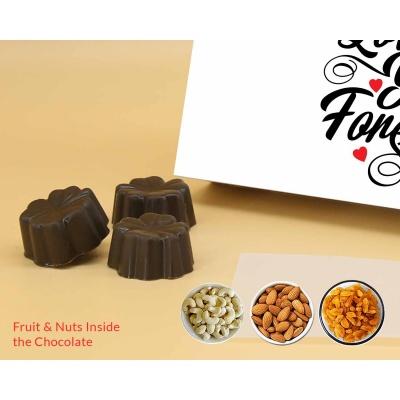 Romantic Chocolate Gift | Fruit  Nuts 12Pcs  ValentaineDay13FNNPC