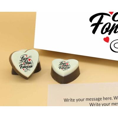 Love You Forever Heart Chocolates 18 Pcs  ValentaineDay13HAPC