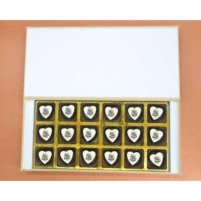 Love You Forever Heart Chocolates 18 Pcs  ValentaineDay13HAPF