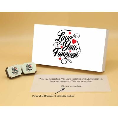 Love You Forever Chocolates 12 Pcs  ValentaineDay13RAPB