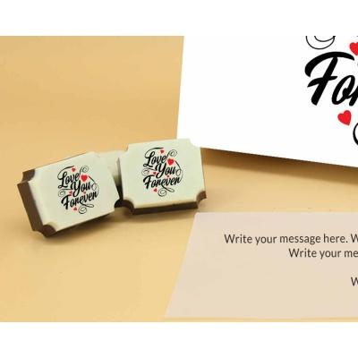 Love You Forever Chocolates 12 Pcs  ValentaineDay13RAPC