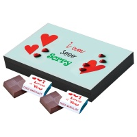 I am Sorry Gift for him her Chocolate's Box Gift