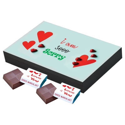 I am Sorry Gift for him her Chocolates Box  12pcs  I am Sorry Gift for him her Chocolates Box Gift