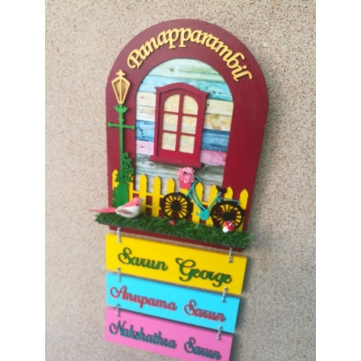 Arch Nameplate For Your Beautiful Home