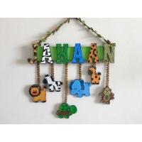 Jungle Theme Kids Name plate for Children  children name plate for kids bangalore mumbai delhi 001