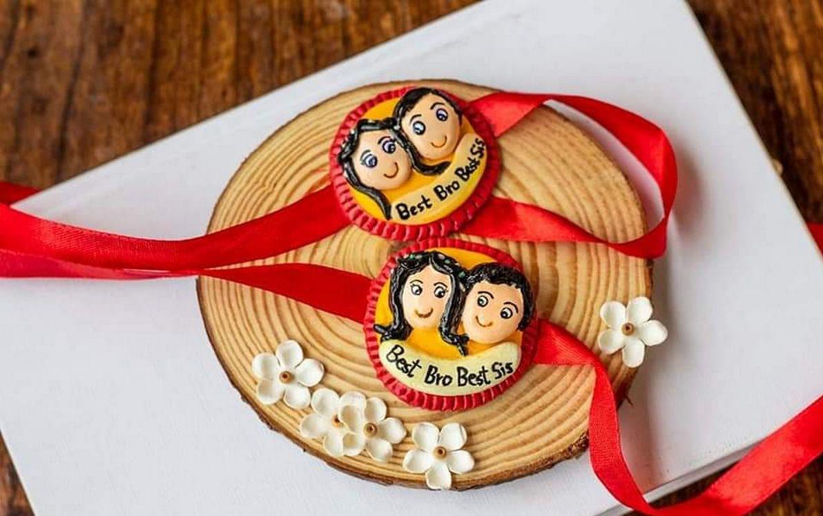 Unique Handmade Customized Rakhi