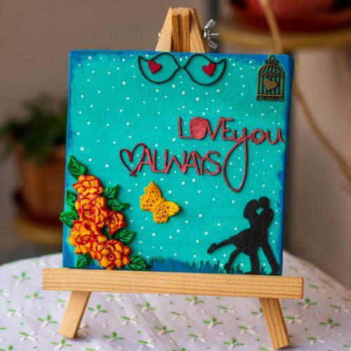 Love themed canvas