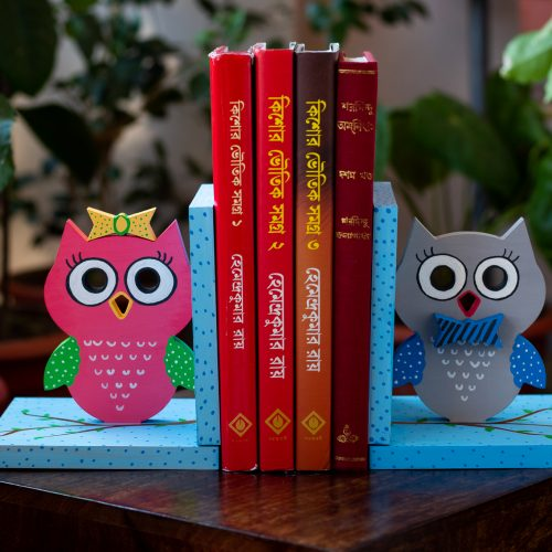Owl themed book end....