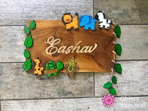 Customized Wooden Nameplate In Ahmedabad Engraved nameplate