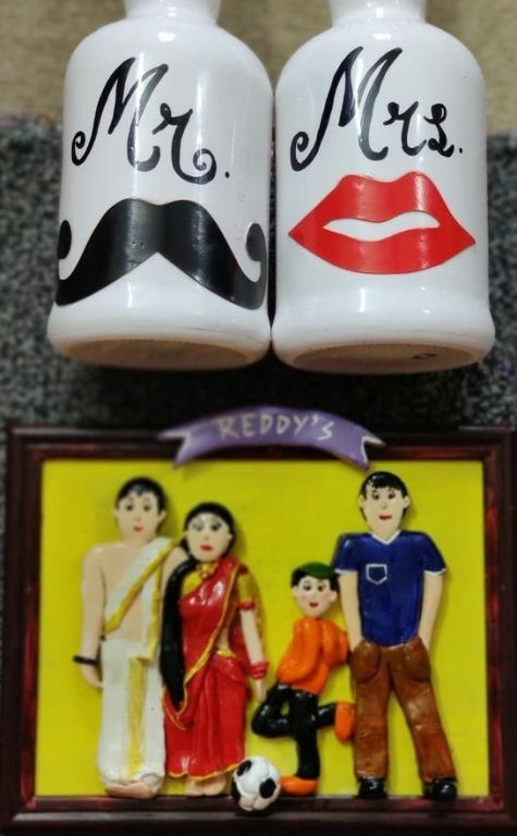 Customised 3D Family Frame  Customised 3D Family Frame