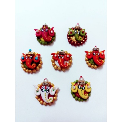 Multicolor Customized Handmade Ganesha Rakhi For Your Brother  Ganesha Rakhi