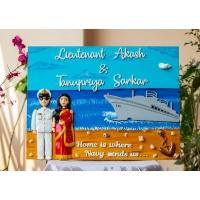 indian navy nameplate
