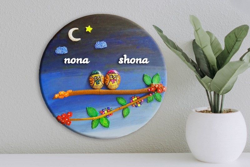 Customized Handcrafted Nameplates for Home