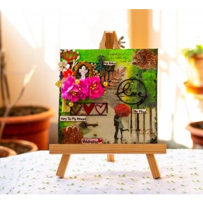 Creative Corner Love Themed Canvas  love themed canvas