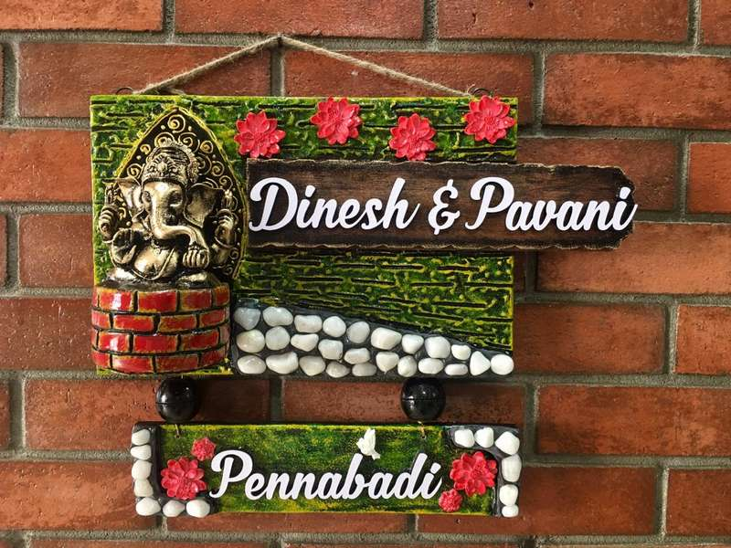 Name Plate for Office House or Apartment  name plate for office house or apartment