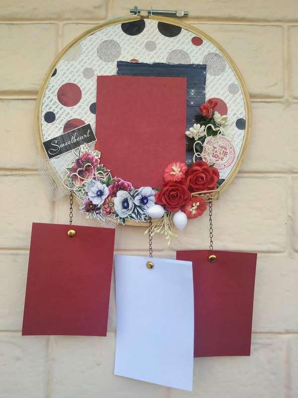 The Pink Umbrella  Love Themed Memory Catcher  pink umbrella hitchki creative handmade gifts 02 0036
