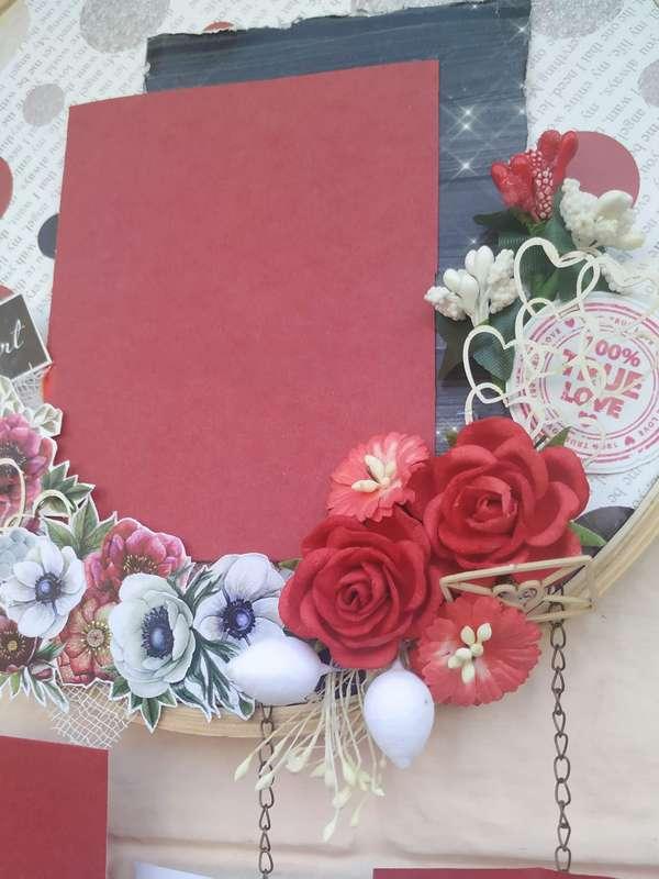 The Pink Umbrella  Love Themed Memory Catcher  pink umbrella hitchki creative handmade gifts 02 0038