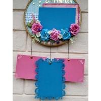 Beautiful Floral Memory Catcher -The Pink Umbrella