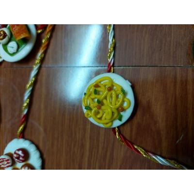 Customized Food Rakhi For Maggie lover brothers  maggie rakhi