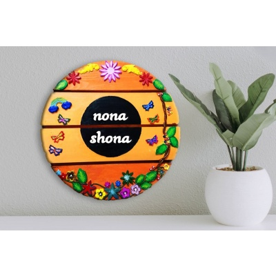 Creative Name Plate for Office Wall Decor