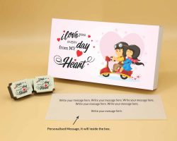 Personalized Printed Chocolate In Ahmedabad chocolate box printed Chocolate
